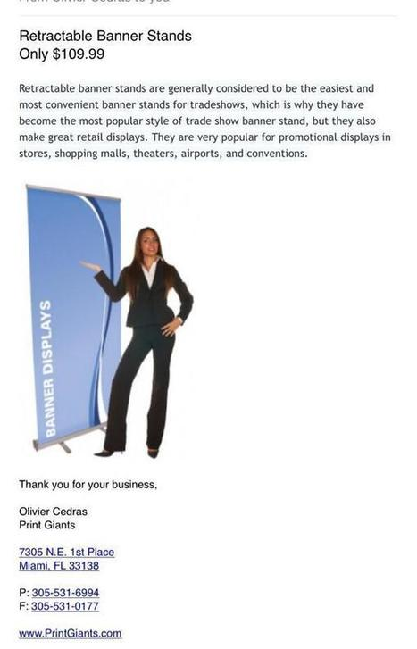 Twitter / Canvasgiants: Check out our retractable banner ...   Banners   Scoop.it