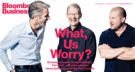 Apple Chiefs Discuss Strategy, Market Share—and the New iPhones | Technology Environment | Scoop.it