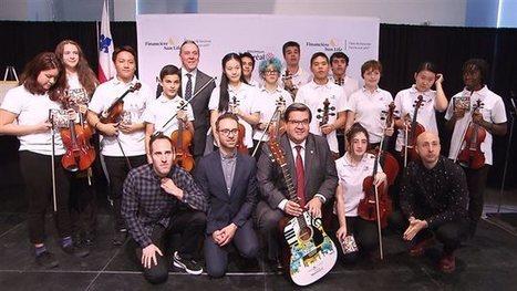 Une première au Québec, des bibliothèques prêteront des instruments demusique | Bibliothèque et Techno | Scoop.it