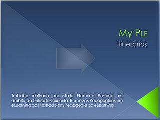 PLE – representação visual | Ambiente Pessoal de Aprendizagem | Scoop.it