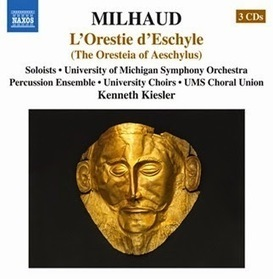 Voix des Arts: A Voice for the Performing Arts throughout the World: CD REVIEW: Darius Milhaud – L'ORESTIE D'ESCHYLE (L. Phillips, D. Kempson, S. Outlaw, S. Delphis, B. Rae, T. Mumford, J. Lane, J.... | OperaMania | Scoop.it