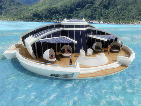 Solar Floating Resort by Michele Puzzolante » Yanko Design | AteBur | Scoop.it