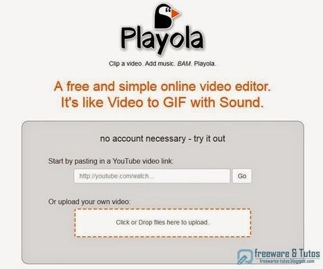 Playola : un outil en ligne pour créer facilement des GIF animés sonores | Time to Learn | Scoop.it