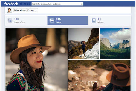 "Facebook improves photo viewing with larger images, takes cues from Google+ | The ""New Facebook"" 