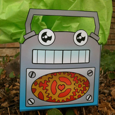 Printable Fun – Father's Day Robot Bag - Wired News | The Robot Times | Scoop.it
