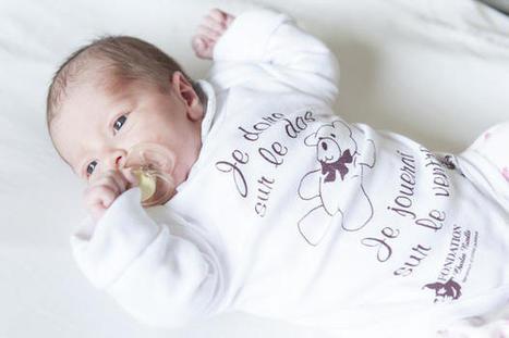 Réseau CHU:Mort subite du nourrisson : un body pour rappeler le bon geste | Veille en Santé et Soins Infirmiers | Scoop.it