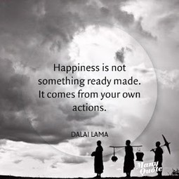 Happiness   Quote for Thought   Scoop.it