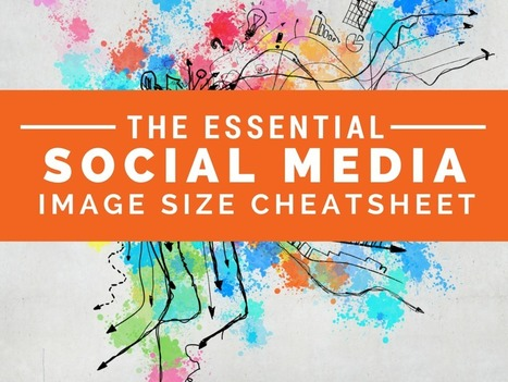 The Essential Cheat Sheet for Social Media Image Sizes - Rebeka Radice | iPads, MakerEd and More  in Education | Scoop.it