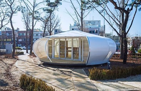 Mobile Library by SpaceTong (ArchiWorkshop), Seoul, 2015 - Hee-Jun Sim | SocialLibrary | Scoop.it
