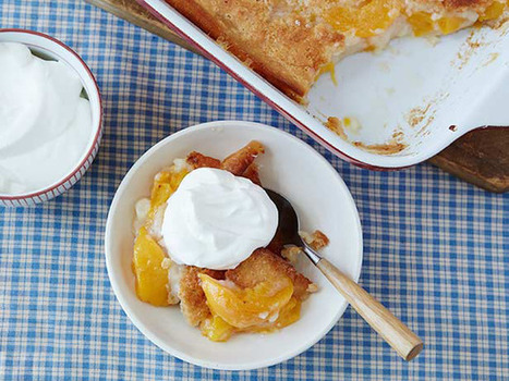 Easy Peach Cobbler : Trisha Yearwood : Food Network | ♨ Family & Food ♨ | Scoop.it
