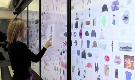 The storefront of the future? Tokyo department store digitizes its window display | Retail | Scoop.it
