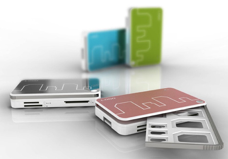 Card Reader for Card Storing with USB Drive by Peng Qixuan | Art, Design & Technology | Scoop.it