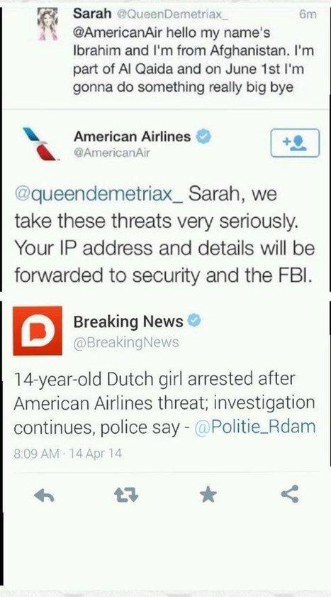 American Airlines prend les petites filles tres au serieux... | CRAZY PRESS | Scoop.it