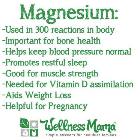 Magnesium Deficiency can Cause Health Problems | Build Health | Scoop.it