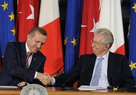 Italia-Turchia: Monti, impegnate insieme per soluzione - ANSA.it | Adotta un vigneto! | Scoop.it
