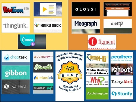 SCSD Technology Corner: American Association of School Librarians Best websites and apps | Skolbiblioteket och lärande | Scoop.it