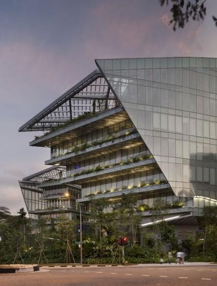 Singapore, gli uffici della Lucasfilm come un vascello di Star Wars | Marketing per il mondo del progetto | Scoop.it