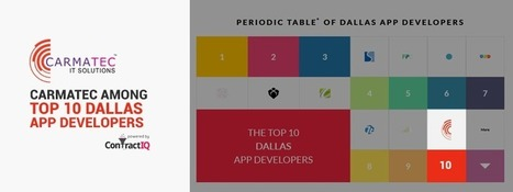 Carmatec Among Top 10 Dallas App Developers | Blog, Press and Events - Carmatec Inc | Software Solutions | Scoop.it