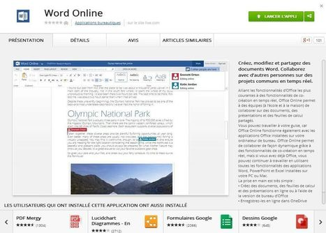 Office Online est désormais disponible sur le Chrome Web Store | INFORMATIQUE 2014 | Scoop.it