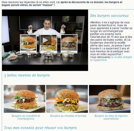 Préparez vos burgers et bagels maison ! | Hobby, LifeStyle and much more... (multilingual: EN, FR, DE) | Scoop.it