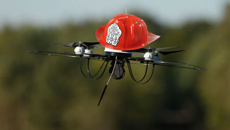 6 No-Brainer Benefits of FireFighting Drones | Drones and UAVs - Daily News about Drones (More than just a Gadget) | Scoop.it