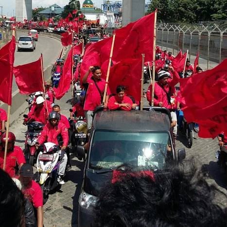 Indonesian Laborers Protest Fuel Price Hike | Asian Labour Update | Scoop.it
