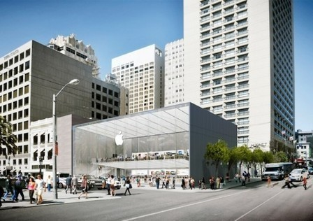 What Does San Francisco's New Apple Store Say About Commercial Architecture? | The Architecture of the City | Scoop.it