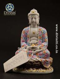Handcrafted Buddha with Swarovski Crystal | Mothers Day Gifts | Scoop.it