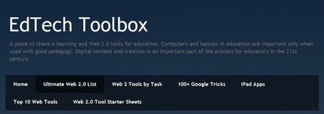 EdTech Toolbox: Ultimate Web 2.0 List | formation 2.0 | Scoop.it