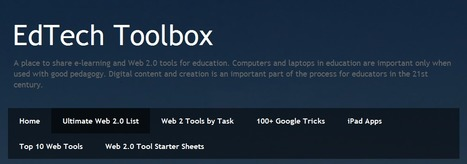 EdTech Toolbox: Ultimate Web 2.0 List | Time to Learn | Scoop.it