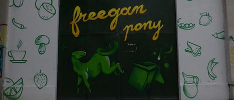 Le Freegan poney : la cantine cachée sous le périph parisien | Des 4 coins du monde | Scoop.it