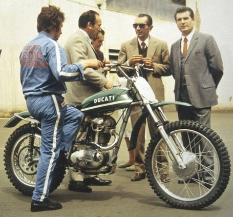 Ducati History Lesson | Tod Rafferty | Reader Submission  | Ducati 450 R/T Prototype archive photo | Ductalk | Scoop.it