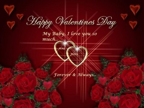 Happy Valentines Day 2016 HD Wallpapers, HQ Images, Photos, Pics, Fb Whatsapp DP Covers - tollytrendz | tollytrendz | Scoop.it