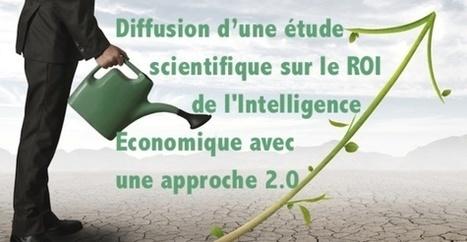 ACTU : Diffusion d'une étude scientifique sur le ROI de l'Intelligence Economique avec une approche 2.0 | Intelligence Economique à l'ère Digitale | Scoop.it