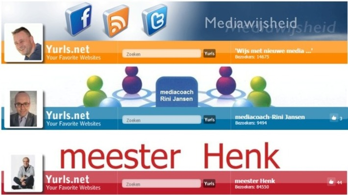 Edu-Curator: 3 Mooie 'Yurls'-startpagina's over Mediawijsheid | Educatief Internet - Gespot op 't Web | Scoop.it