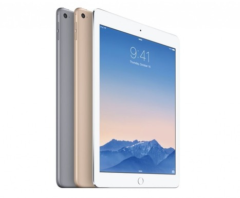 Apple iPad Air 2: Much Thinner and Faster with Fingerprint | TechConnectPH News | Scoop.it