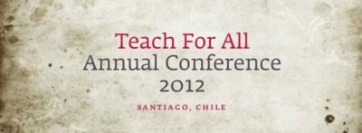 "Enseña Chile: Encuentro internacional ""Teach for All"" se llevará a cabo por primera vez en Chile 