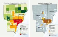 Detroit, la ville afro-américaine qui rétrécit, par Allan Popelard et Paul Vannier (Le Monde diplomatique)   Detroit   Scoop.it