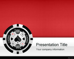 Casino Las Vegas PowerPoint Template | Free Powerpoint Templates | Test | Scoop.it