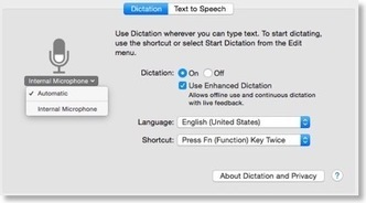Using Apple Dictation For Mac Article Writing - Blogging - Press Release Marketing   Mac SEO Tools and Tips   Scoop.it