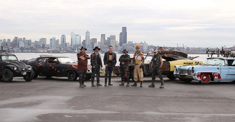A Seattle, Uber transporte des clients dans les voitures de Mad Max ! | Id Marketing | Scoop.it