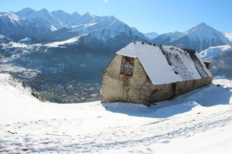 Grange de Grascouéou sous la neige | Vallée d'Aure - Pyrénées | Scoop.it