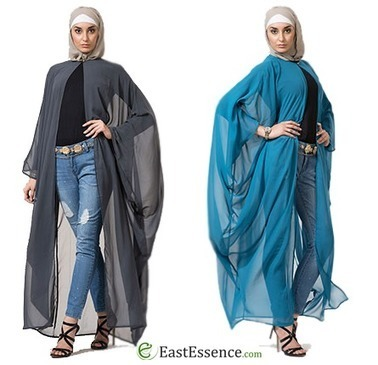 You Just Can't Do Without Long Shrugs | Islamic Clothes Online | Scoop.it