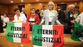 NEWS! Eternit, 18 anni per Schmidheiny A Comune e Regione 50 milioni --- Eternit, 18 years for Schmidheiny A City and Region 50 million   Asbestos and Mesothelioma World News   Scoop.it