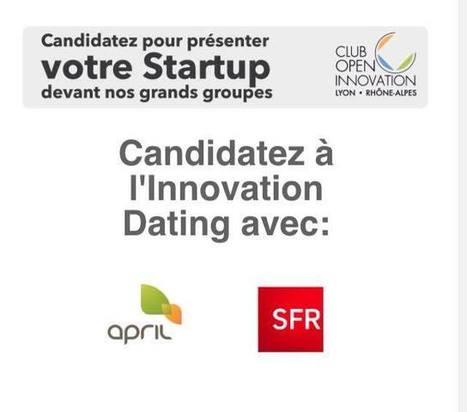 Innovation dating: l'appel à candidature des startups du Big... | MarCom Startup | Scoop.it