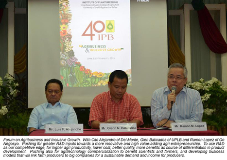 Pilipinas Now is our Time: Inclusive Agriculture Growth   Philippines 2030   Scoop.it