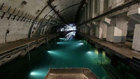 Journey into the Dystopian World of Abandoned Soviet Submarine Bases | Strange days indeed... | Scoop.it