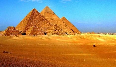 Ladders to heaven: Who built the ancient pyramids of Egypt? | Ancient Egypt | Scoop.it