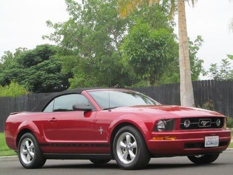 2008 Ford Mustang V6 Deluxe Convertible For Sale - MustangCarPlace | Automobiles | Scoop.it