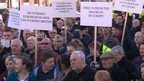 Protest staged over immigration | The Indigenous Uprising of the British Isles | Scoop.it